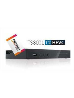 DIGITALE TELESYSTEM TS 8000 HD T2 HEVC WI-FI